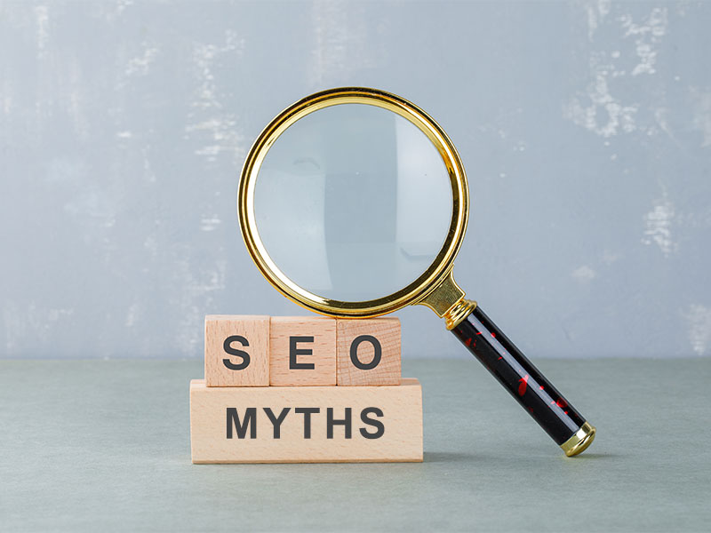 seo myths, seo myths to avoid, 10 seo myths, seo myths and facts, seo misconceptions