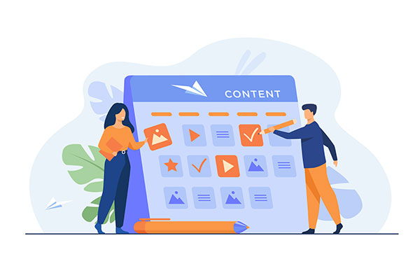 service pillar page, content pillar pages