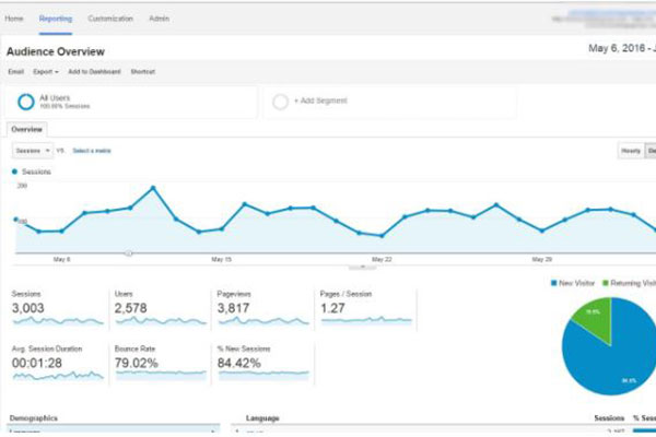 Audience, how to use google analytics