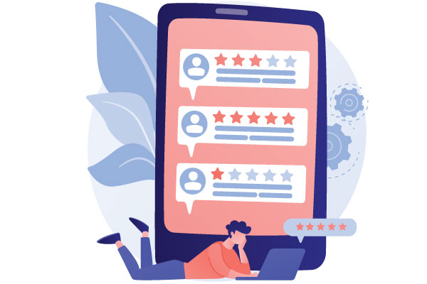 Ensure reviews and ratings, how to increase app downloads